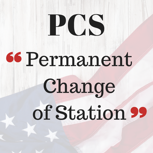 PCS Permanent Change of Station
