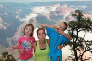 Who can resist a detour through the Grand Canyon?  Not this crew!