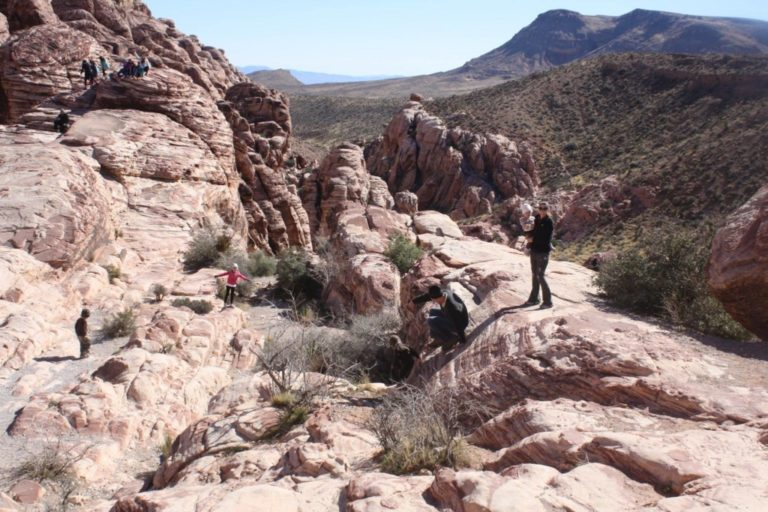 Hiking at Red Rock
