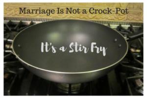 It's a Stir Fry