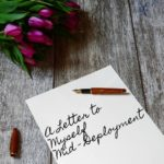 A Letter to Myself Mid-Deployment