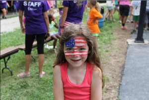 Kathrynn Hudson celebrates the Fourth of July with Operation Purple Camp