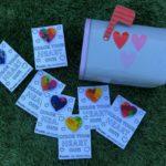 DIY Crayon Heart Valentines