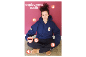 deployment outfit