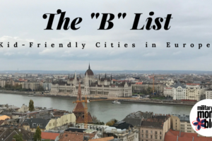 kid-friendly cities in Europe