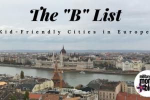kid-friendly cities in Europe