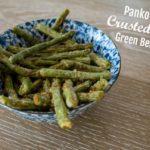 Recipe: Crispy Garlic, Panko-Crusted Green Beans