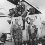 180825-N-NO101-003 WASHINGTON - Undated photo of John S. McCain III, lower right, during flight training. (U.S. Navy photo courtesy of the Library of Congress/Released)