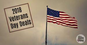 2018 Veteran's Day Deals,Veteran's Eat Free