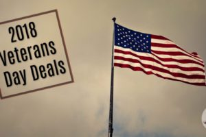 2018 Veteran's Day Deals,Veteran's Eat Free
