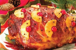 Holiday Christmas Ham