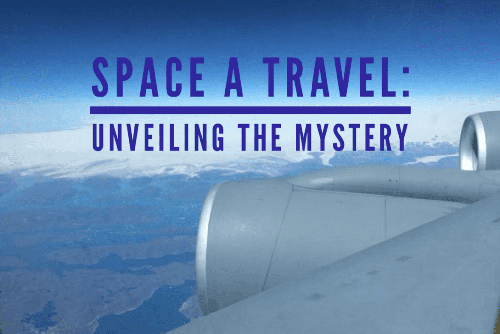Space A travel wing tip