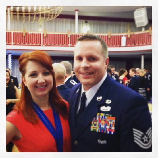 military spouse and airman awards