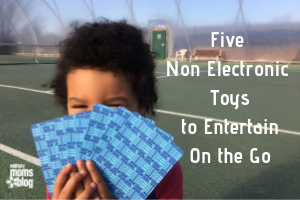 Five Non-Electronic Toys to Entertain On the Go feature