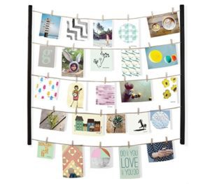 Photo Clothes Line Display