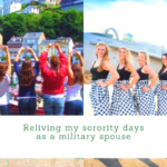 Reliving My Sorority Days as a Military Spouse