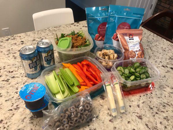 I slayed a 15 hour road trip with my snacks