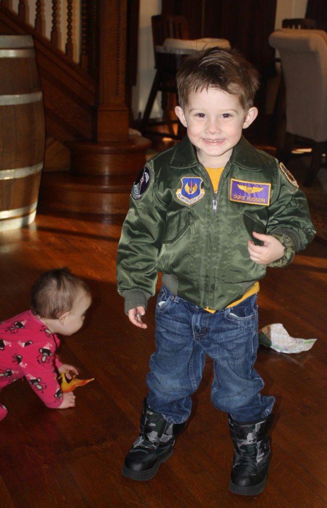 Military Child Duke Hudson