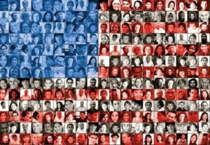 american flag mosaic where you are from