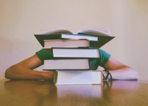 books and student