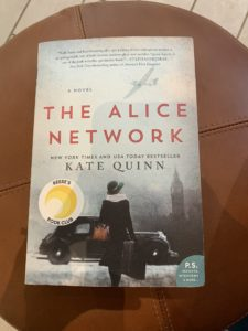 the alice network book club pick