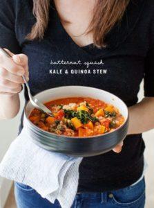 Butternut squash stew fall food
