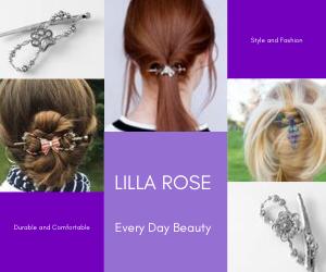 Lilla Rose Hair Jewels