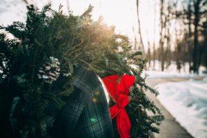 christmas wreath service