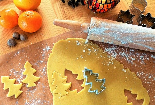 baking cookies early to avoid holiday stress