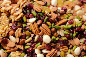 nuts and seeds healthy snack