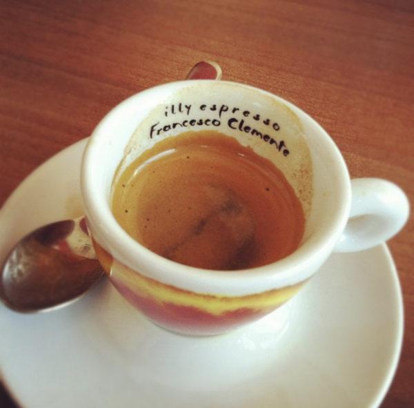 illy espresso coffee addict