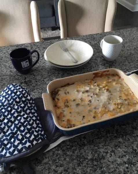 breakfast casserole family recipe