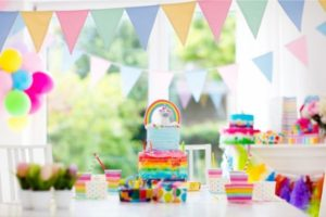 child's birthday party