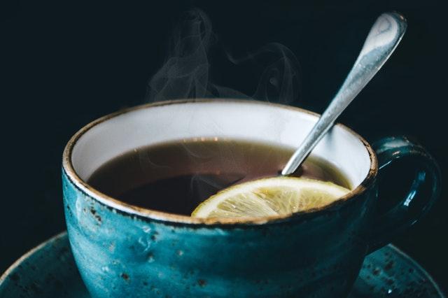 hygge image of hot tea