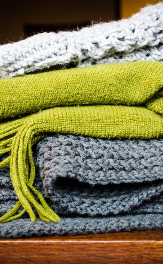 blankets for hygge lifestyle