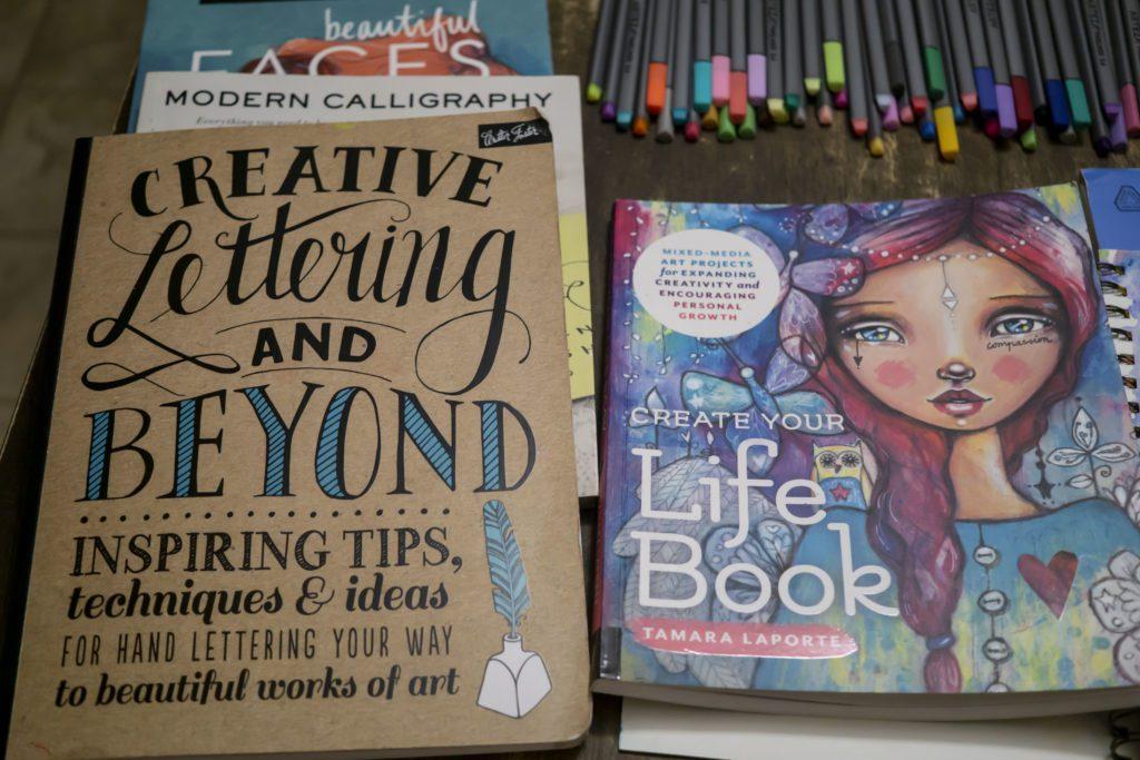 art journaling books