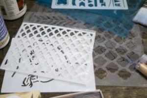stencils for art journaling
