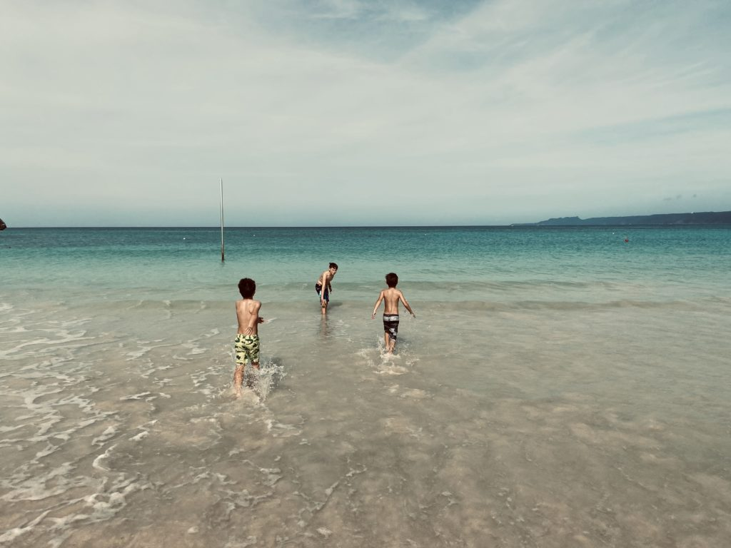 children at the beach a blessing in life