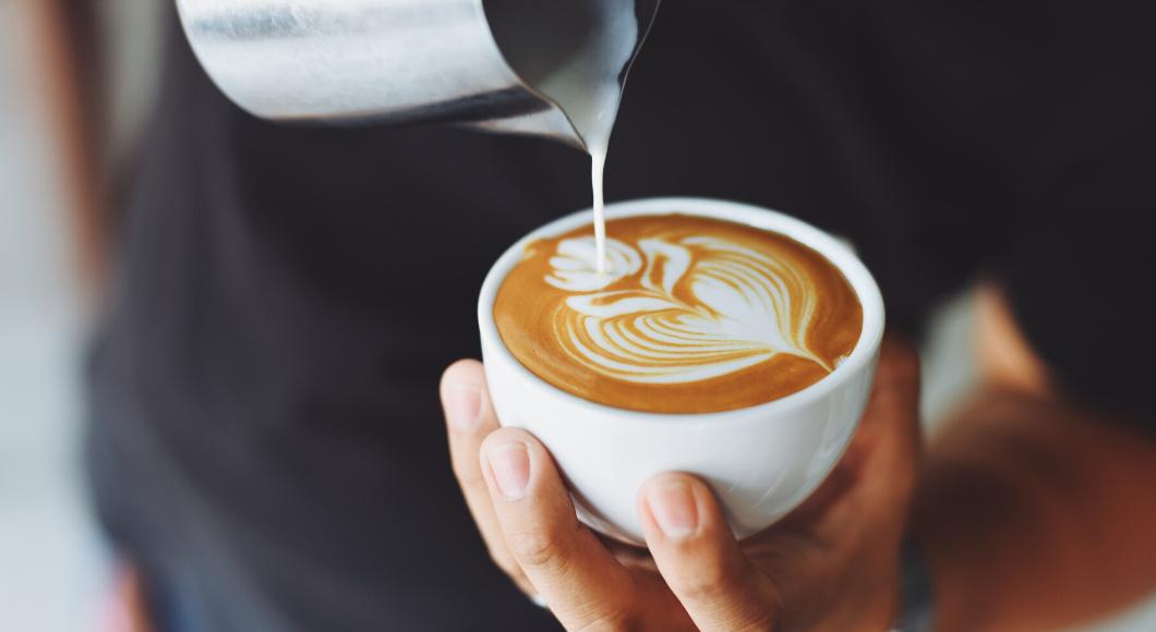 artisan coffee from a coffee chain