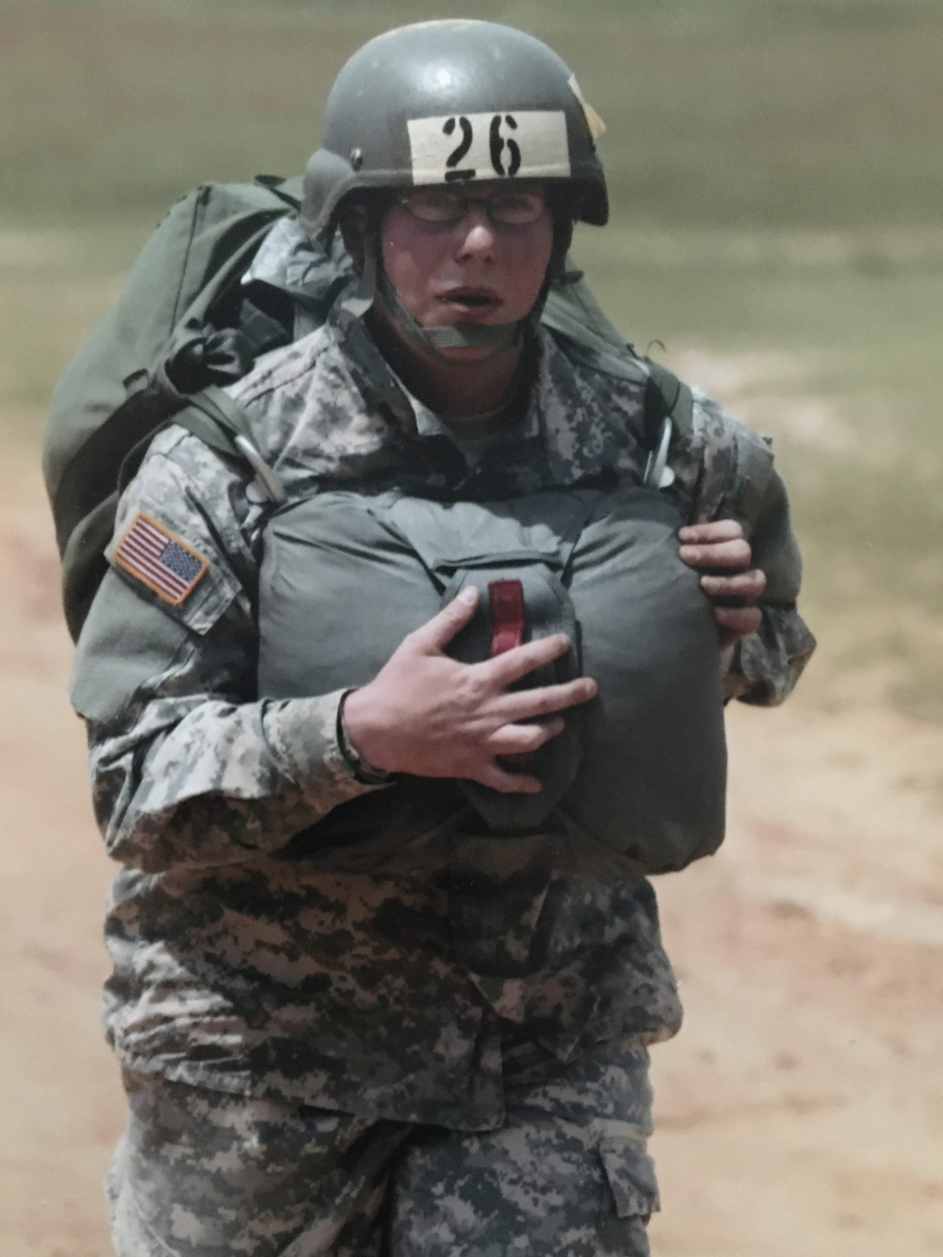 active duty female soldier