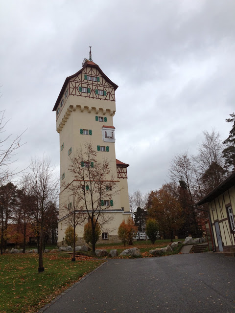 tower on a German military base