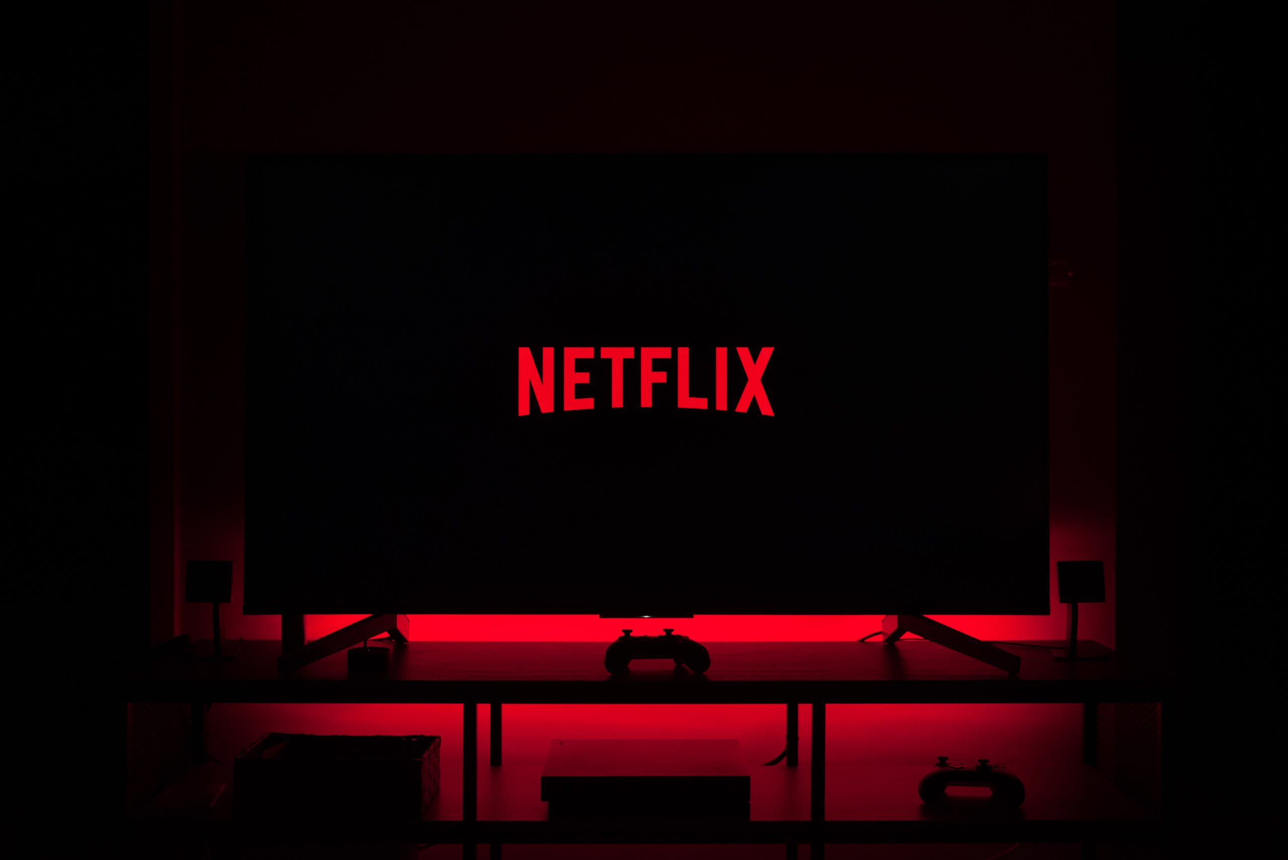 netflix on tv screen to survive winter