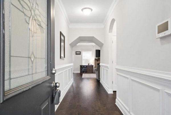 entryway of our home