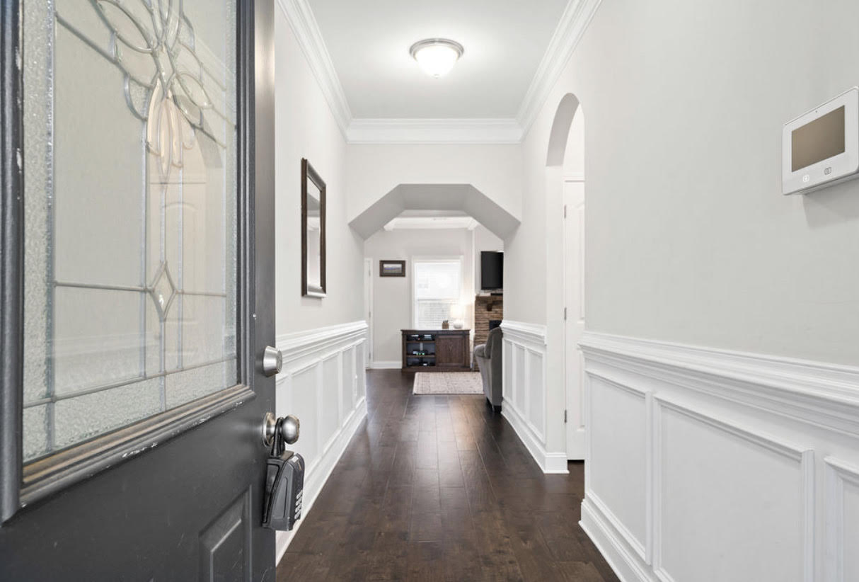 entryway of our house