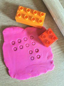 Play Dough Lego Addition