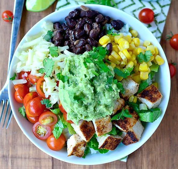 burrito bowls for easy meals