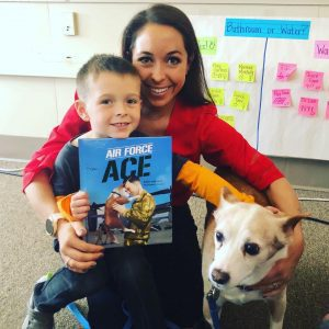Katie Marcucci, author of Air Force Ace