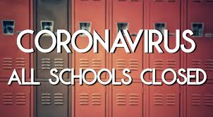 coronavirus all schools canceled sign