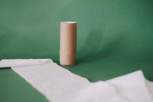 Empty loo roll