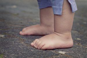 toddler feet